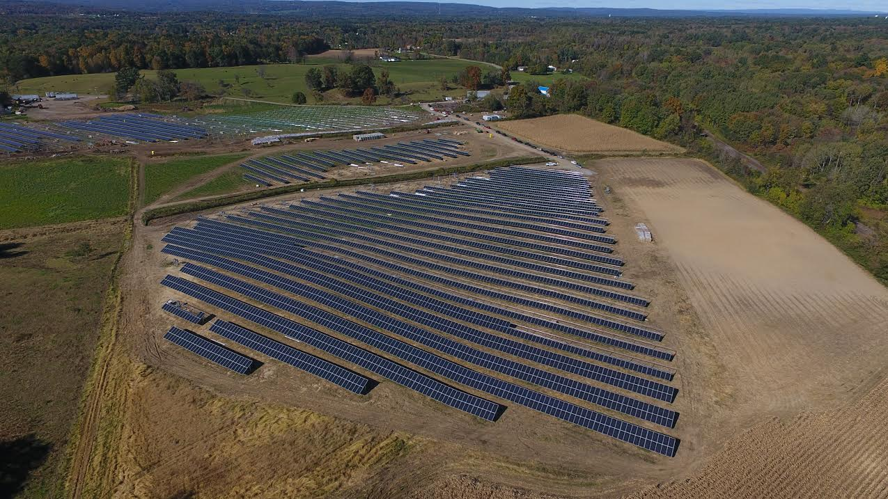 In The News: Community Solar Garden Comes Online In Albany Area
